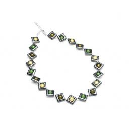 Harlequin Square Necklace