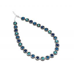 Harlequin Circles Necklace