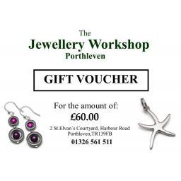 £60 gift voucher