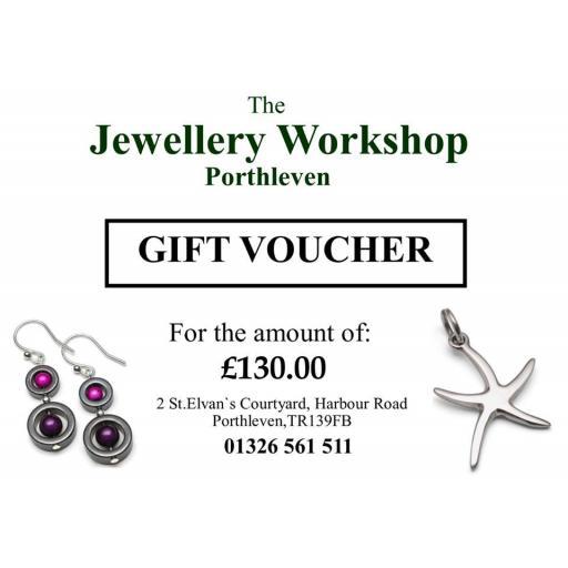 £130 gift voucher
