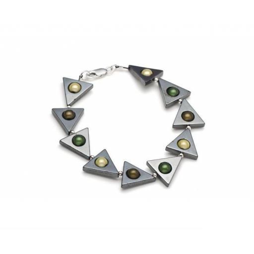 Harlequin Triangle Bracelet